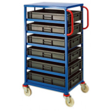 Mobile Tray Rack - 6 x 20 litre trays