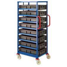 Mobile Tray Rack - 8 x 20 litre trays