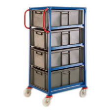 Mobile Tray Rack - 4 x 45 litre trays