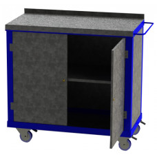 Tool Trolley - 2 Cupboards