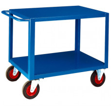 HD Table Trolley - Two Deck - Steel