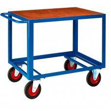 HD Table Trolley - Top Deck - Timber