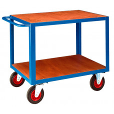 HD Table Trolley - Two Deck - Timber