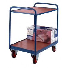 Industrial Tray Trolley - Timber
