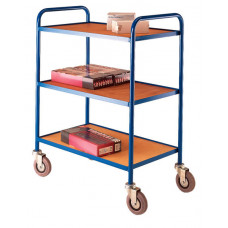 Small MD Tray Trolley - Timber